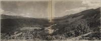 Panorama of Baker River Reservoir from Eden quarry