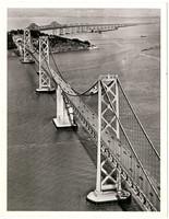 Aerial view of the San Francisco - Oakland Bay Bridge