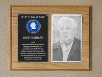 Hall of Fame Plaque: Jack Hubbard, Coach, Class of 1984