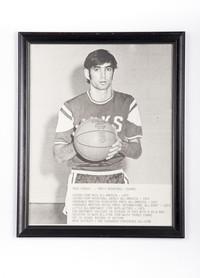 Basketball (Men's) Photograph: Mike Franza, Guard, 1973