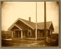 Kulshan Club - Exterior of craftsman-style house