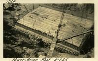 Lower Baker River dam construction 1925-08-01 Power House Roof