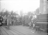 1921 Peace Arch opening , Blaine, Washington