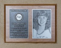 Hall of Fame Plaque: Lori deKuber, Basketball, Class of 2013