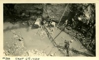 Lower Baker River dam construction 1924-09-06 Excavation in dam site