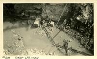 Lower Baker River dam construction 1924-09-06 Excavation in dam site