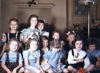 1953 Campus School Girls