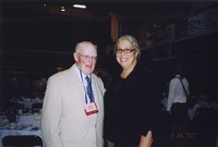 2007 Reunion--Jack Carver and Toni Nagel at the Banquet