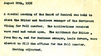 AS Board Minutes 1936-08