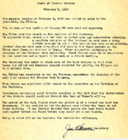 AS Board Minutes 1938-02