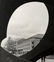 1973 Library Through Sky Viewing Sculpture