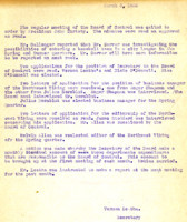 AS Board Minutes 1933-03