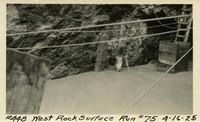 Lower Baker River dam construction 1925-04-16 West Rock Surface Run #75