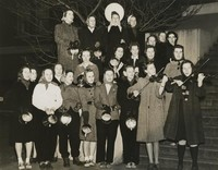 1940 Edens Hall: Students