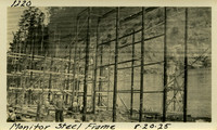 Lower Baker River dam construction 1925-08-20 Monitor Steel Frame