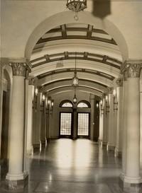 1945 Library: Main Hall Looking North