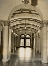 1945 Library: Main Hall Looking North