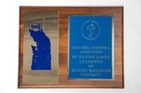 Football Plaque: Columbia Football Association Mount Rainier League Champions, 1995
