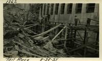 Lower Baker River dam construction 1925-08-28 Tail Race