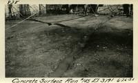 Lower Baker River dam construction 1925-06-26 Concrete Surface Run #145 El.3191