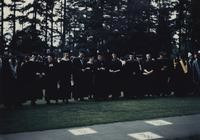 1959 Commencement: Faculty