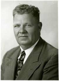 Studio portrait of Herb Smith