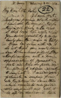 1866-10-10 Letter from M.L. Stangroom to his sister Lucy