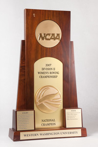 Rowing (Women's) Trophy: NCAA Division 2 National Champion, 2007