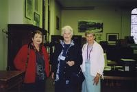 2007 Reunion--Lyn Zukerkorn, Cyrene (Keyes) Moore and Andra Lee (Brand) Phibbs in Special Collections