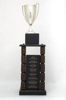 General Trophy: G. Robert Ross Memorial, WWU Athlete of the Year award (right rear side), 1986/2013