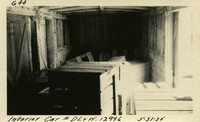 Lower Baker River dam construction 1925-05-31 Interior Car #D.L.+W.12996