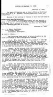 WWU Board minutes 1914 February