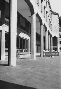 1990 Library: South Facade
