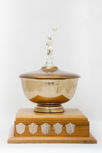 Basketball (Women's) Trophy: Thunderette Invitational Tournament, Lower Mainland Amatuer Basketball Association (back), 1960/1979