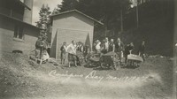 1927 Campus Day: Shoveling Dirt