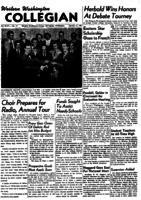Western Washington Collegian - 1951 January 12