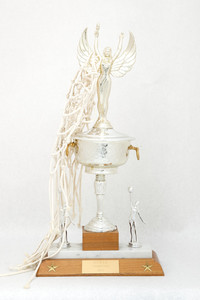 Basketball (Women's) Trophy: NCWSA Champions, 1973