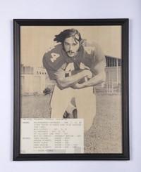 Football Photograph: Tom Wigg, Fullback, 1970/1973