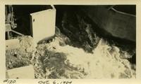 Lower Baker River dam construction 1924-10-06 Pier