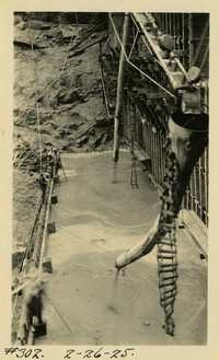 Lower Baker River dam construction 1925-02-26 Filling in trench