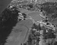 1955 Aerial View: South Campus