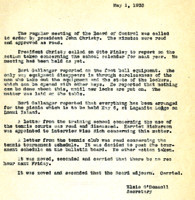AS Board Minutes 1933-05
