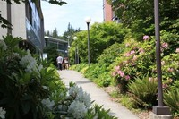 Walkway to Academic West and Academic Instructional Center