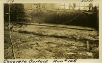 Lower Baker River dam construction 1925-05-17 Concrete Surface Run #105 N.E. Corner