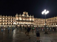 Plaza Mayor at Night - Salamanca, Spain