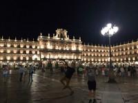 Plaza Mayor at Night - Salamanca, Spain