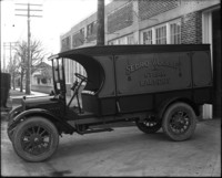 Laundry delivery truck (Sedro Woolley Steam Laundry)