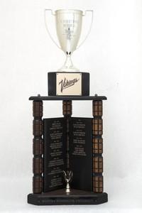 General Trophy: G. Robert Ross Memorial, WWU Athlete of the Year award (front), 1986/2013