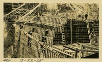 Lower Baker River dam construction 1925-03-22