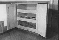1944 Storage Cupboards for Artwork